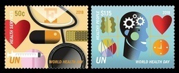 United Nations (New York) 2018 Mih. 1657/58 Medicine. World Health Day MNH ** - Ungebraucht