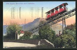 AK Lugano, Funicolare Del S. Salvatore, Bergbahn - Ferrocarril