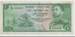 ETHIOPIA P. 18a 1 D 1961 VF - Ethiopië
