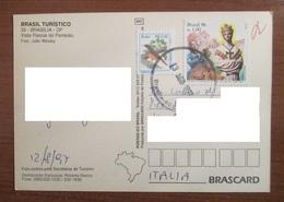 Brasile Brasil 1996 Storia Postale - 150 Aparicao And Bird - Brasile