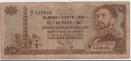 ETHIOPIA P. 21 20 D 1961 F - Ethiopië
