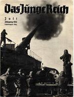 Das Junge Reich Juli 1942, Erscheinungsort Wien, ZEITSCHRIFT 32 Seiten Mit Illustrationen, Werbung, Gute Erhaltung - Revues & Journaux