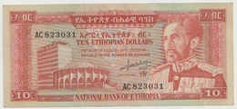 ETHIOPIA P. 27a 10 D 1966  XF+ - Ethiopië