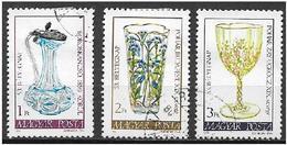 UNGHERIA 1980 GIORNATA DEL FRANCOBOLLO YVERT. 2733-2735 USATA VF - Ungheria