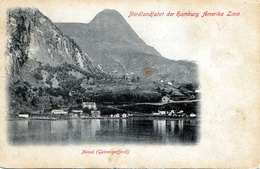 1900? MEROK (Norwegen) Geirangerfjord Nordlandfahrt Der Hamburger Amerika Linie Karte Nicht Gelaufen Um 1900, Mit 10 Öre - Norwegen