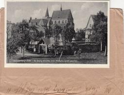 SCHLESIEN Feldpostbrief Mit Inhalt 1942, Gel.v. Monsterberg - Gleimitz Flughafen Wetterwarte - Briefe U. Dokumente