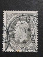 COB N ° 35 Oblitération Avelghem 1882 - 1869-1883 Léopold II