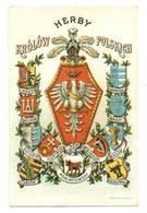 Herby Królów Polskich Litografia 1920 R - Patrióticos