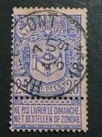 COB N ° 70 Oblitération Herbeumont 1894 - 1894-1896 Expositions
