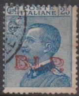 Italy BLP 12 1923  King Victor Emmanuel, Overprinted BLP, 25c Blue, Used - 1900-44 Vittorio Emanuele III