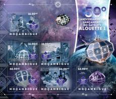 Mozambique 2012  Satellite Aloutte 1. Space - Mozambique