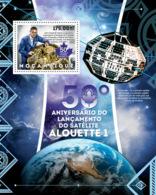 Mozambique 2012  Satellite Aloutte 1,  Space - Mozambique