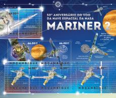 Mozambique 2012   NASA Spacecraft Mariner 2 - Mozambique