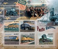 Mozambique 2012    Union Pacific Railroad - Mozambique