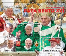 Mozambique 2012  Pope Benedict XVI - Mozambique