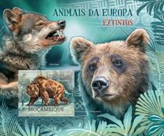 Mozambique 2012 Fauna Animals Of Europe, Bear - Mozambique
