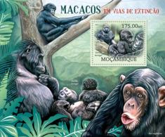 Mozambique 2012 Fauna Chimpanzee ,gorilla - Mozambique