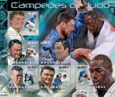 Mozambique 2012 Judo Champions - Mozambique