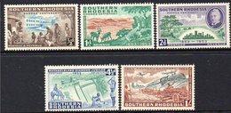 SOUTHERN RHODESIA, 1953 RHODES CENTENARY 5 MH - Timbres