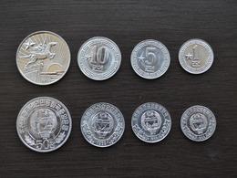KOREA SET 5 COINS 1+5+10 +50 Chon UNC COIN NORTH SOCIALISM CURRENCY ASIA >1 Star, ☆ - Corea Del Norte