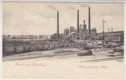 Gruss Aus Duisburg - Niederrheinische Hütte - Um 1900 - Duisburg