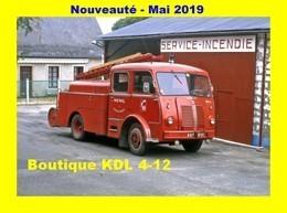 AL SP 81 - FPT Berliet GLA - MENIL - Sapeurs-Pompiers De La Mayenne - Frankrijk