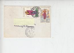"""TUNISIA 1962 - Letterina Per La Germania  Con """"costumi"""" - Tunisia (1956-...)"""