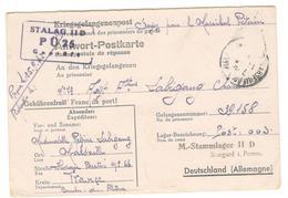 """18053 - STALAG  II D """"soyez  Pour Le Maréchal..."""" - Poststempel (Briefe)"""