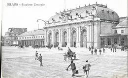 6-MILANO- STAZIONE CENTRALE(PICCOLA ANIMAZIONE) - Stazioni Senza Treni