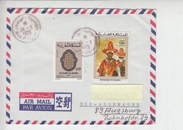 MAROCCO  1975 - Air Mail To Germany - Marocco (1956-...)