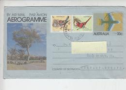 AUSTRALIA - Uccelli - Aerogrammi