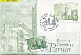 ITALIA - FDC MAXIMUM CARD 2007 - BASILICA CATTEDRALE DI PARMA -  ANNULLO SPECIALE - Cartoline Maximum