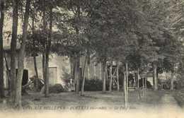 COLONIE BELLEVUE PORTETS (Gironde) Le Petit Bois RV Beau Timbre 5C Bord De Feuille 7 - France