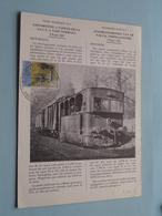 Locomotive A Vapeur De La SNCV / Stoomlocomotief NMVB ( Technische Fiche Nr. 3 ) > 1965 ( Zie / Voir Photo ) ! - Trains