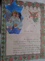 NIEUWJAARSBRIEF Aan De Meter Van MARCEL BOEYE ( Melsele-Waas 1 Januari 1943 ) > ( Zie / Voir Photo ) ! - New Year