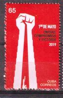 Cuba 2019 May 1st International Worker's Day 1v MNH - Nuovi