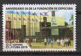 Cuba 2019 30th Anniversary Of Expocuba Park`s Fundation 1v MNH - Nuovi