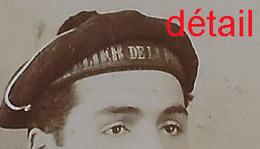 CDV Marin Voir Insigne Sur Manche-photo Jean Laplane Spécialiste Images Brésiliennes Et Espagnoles  Toulon - Krieg, Militär