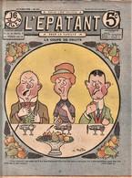 Rare Revue L'épatant 26 Janvier 1911 Avec Bd Des Pieds Nickelés - Otras Revistas