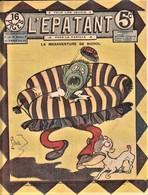 Rare Revue L'épatant Mars1911 Avec Bd Des Pieds Nickelés - Otras Revistas