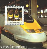 Sao Tome  2003 Eurostar Trains - Sao Tome And Principe