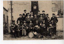 CPA CLION (36) INDRE ~ LA FANFARE DE CLION 1er JANVIER 1906 - France