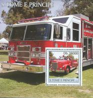Sao Tome  2003  Fire Engines - Sao Tome And Principe