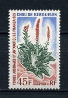 TAAF 1973  N° 48 ** Neuf MNH Superbe C 14.50 € Chou De Kerguelen Flore Flora Flowers - Unused Stamps