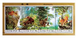 2003 North Korea Stamps Animal MS - Korea, North