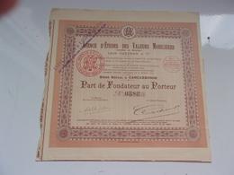 Agence D'études Des Valeurs Mobilières (1925) Carcassonne,aude - Sin Clasificación
