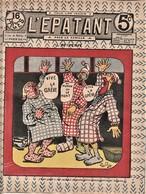 Rare Revue L'épatant Fevrier 1911 Bd Des Pieds Nickelés - Otras Revistas