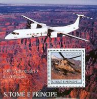 Sao Tome 2003  Aviation , Airplane ,helicopter - Sao Tome And Principe