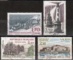 France 1984 -  Mi 2446/51/53/57 - YT 2323/26 ( Turism ) Complete Issue - Gebraucht