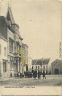 Merbes-Le-Chateau : Grand Place ( Ecrit 1904 Avec Timbre ) - Merbes-le-Château
